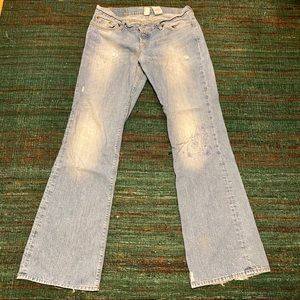 "Lucky Brand distressed ""Sweet Dreams Jean"" 14"